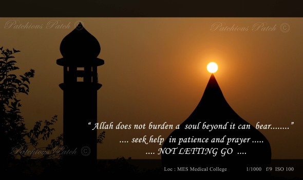 in Patience and Prayers