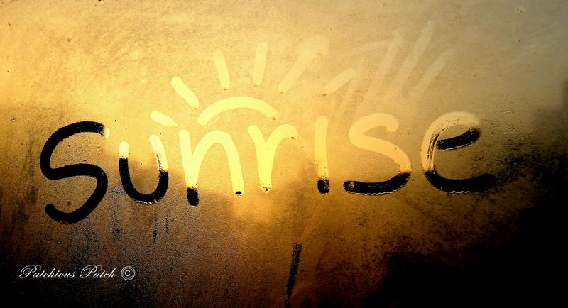 The Sun will Rise…..